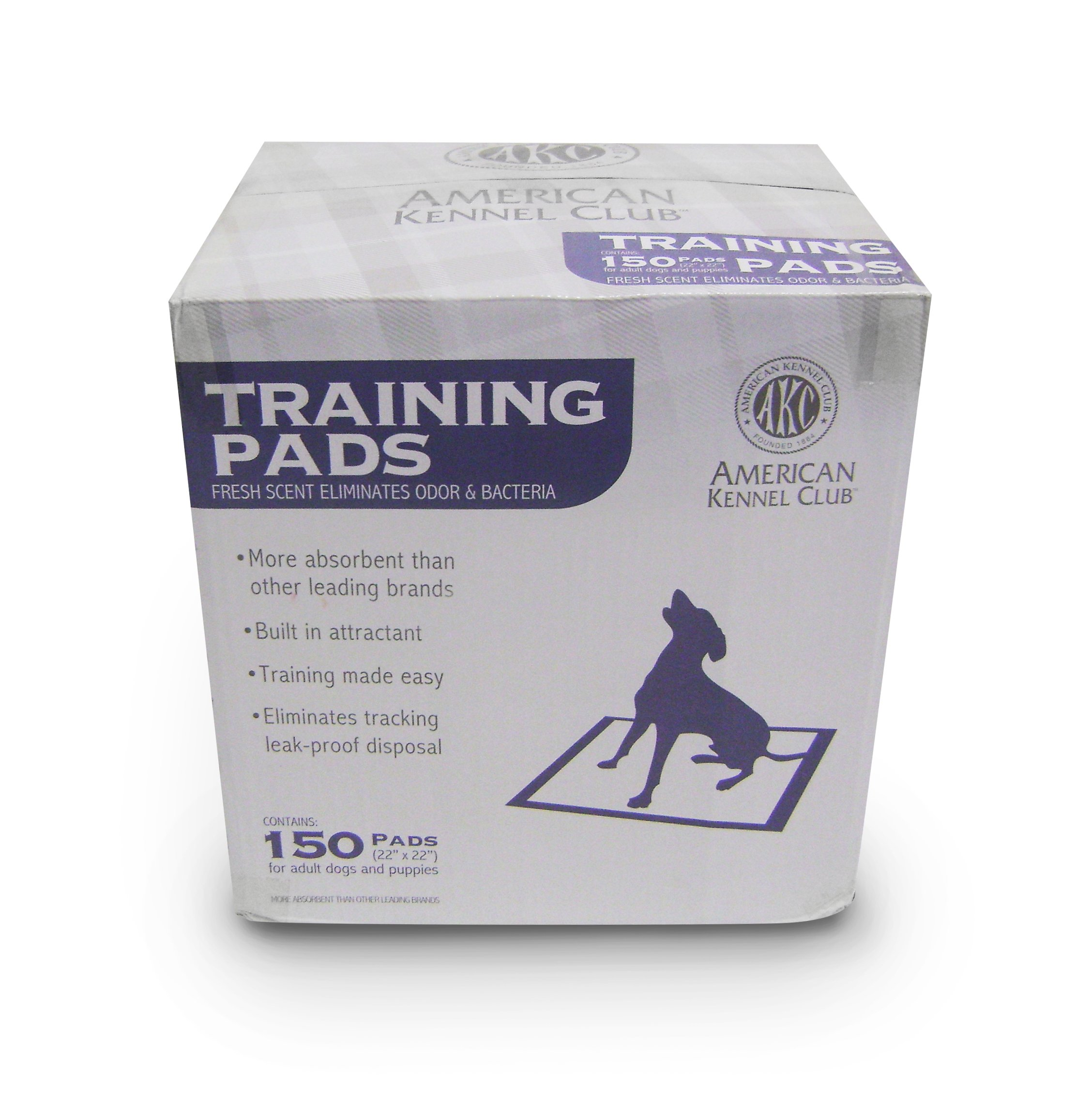 American Kennel Club AKC 150-Pack Training Pads in a Box