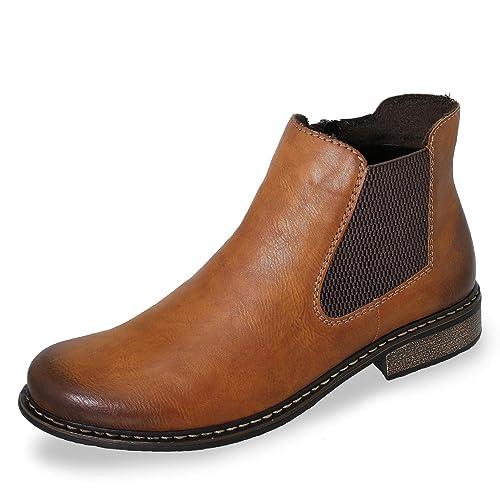 Rieker Z4994 24, Bottes Chelsea Femme: : Chaussures