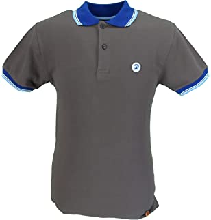 TROJAN Records GOLDEN TAN Retrò Dogtooth Polo