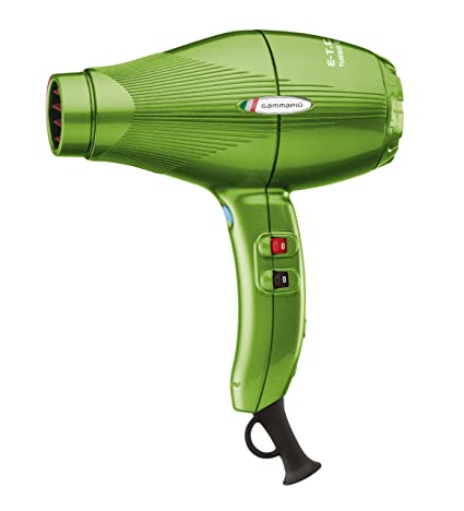 Gamma Piu ETC Light L - Secador de pelo, color verde: Amazon.es: Salud y cuidado personal