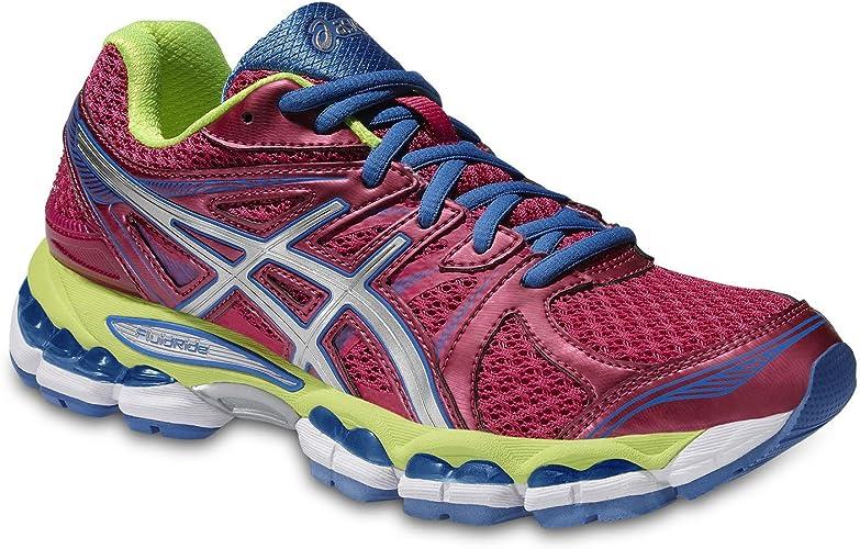 Asics T4a7q/3601 - Zapatillas de running para mujer PINK/SILVER ...