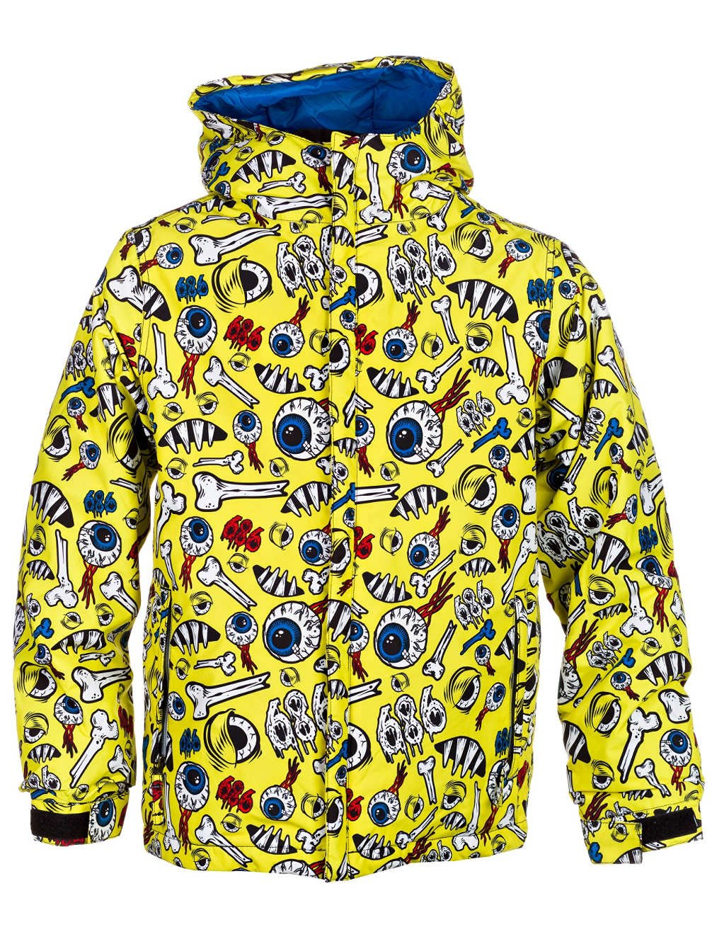 Snow Jacket Kids 686 Snaggletooth Operation Insulated Boys Amazoncouk Sports Outdoors