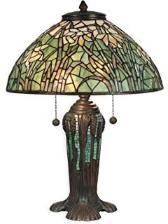 Dale tiffany tt10335 wisteria tiffany table lamp antique bronze and dale tiffany tt90429 tiffany table lamp antique bronze verde green and art glass shade mozeypictures Image collections