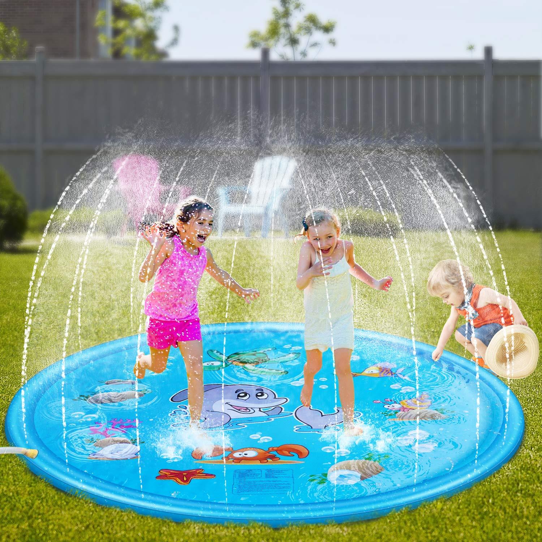 Outdoor Sprinkler Pad Toys For Kids & Baby BIG 68