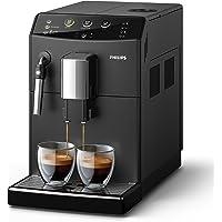 Philips 3000 Serie HD8827/01 Kaffeevollautomat (1850 W, klassischer Milchaufschäumer) schwarz