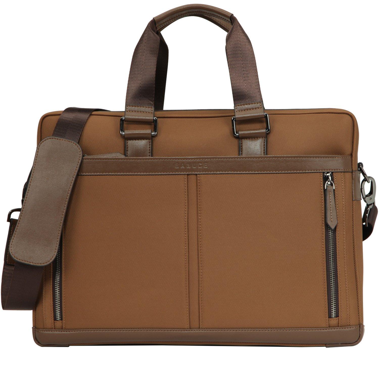 Banuce Waterproof Nylon Waterproof Laptop Messenger Bag 15 inch Business Briefcase for Men Slim Shoulder Attache Case