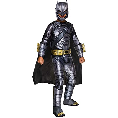 Rubie's Costume Batman v Superman: Dawn of Justice Armored Batman Deluxe Child Costume, Small: Toys & Games