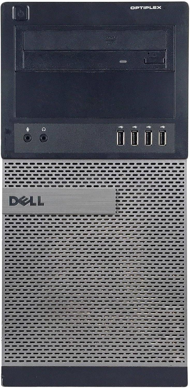 Dell Optiplex 990 Tower Premium Business Desktop Computer (Intel Quad-Core i5-2400 up to 3.4GHz, 16GB DDR3 Memory, 2TB HDD + 120GB SSD, DVDRW, WiFi, Windows 10 Professional) (Renewed)