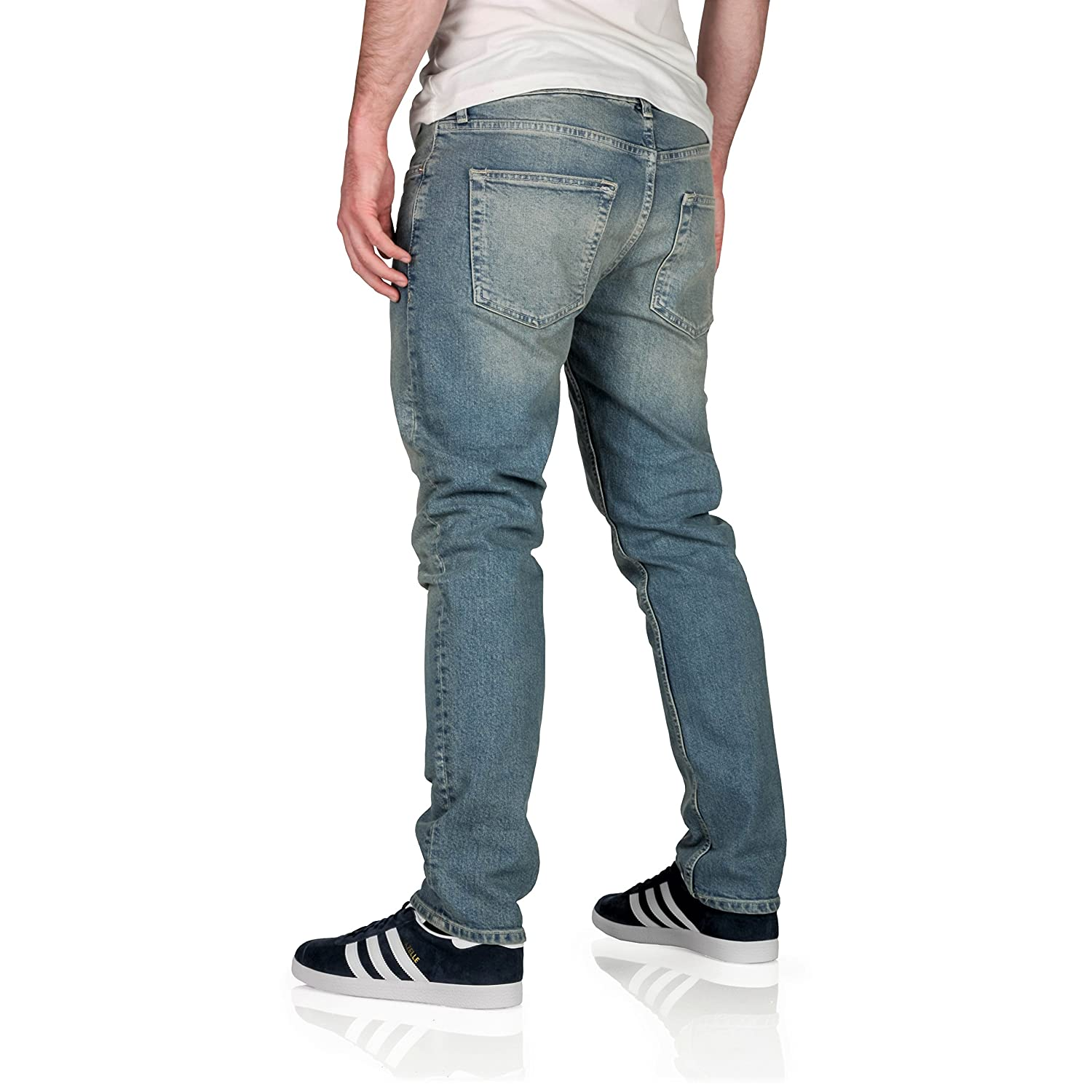 99cf13a5 Topman Mens Stretch Slim Fit Jeans: Amazon.co.uk: Clothing