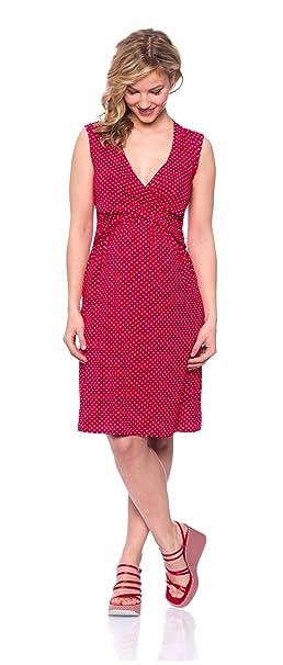 Milchshake - Vestido - para mujer erdbeerrot extra-large