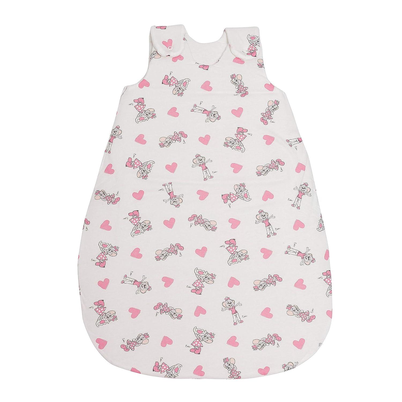 mitwachsend /& atmungsaktiv Babyschlafsack Happy Winter Baby-Schlafsack Herzen rosa, 50//56 SONDERKOLLEKTION Stoffe /ÖKO-TEX Zertifiziert