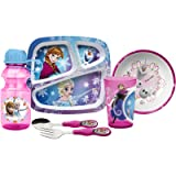 Zak Designs Frozen Girl Easy Grip Flatware Fork And