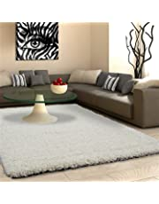 VICEROY BEDDING SHAGGY RUG Rugs Living Room Large Soft Touch 5cm Thick Pile Modern Bedroom Living Room Area Rugs Non Shed