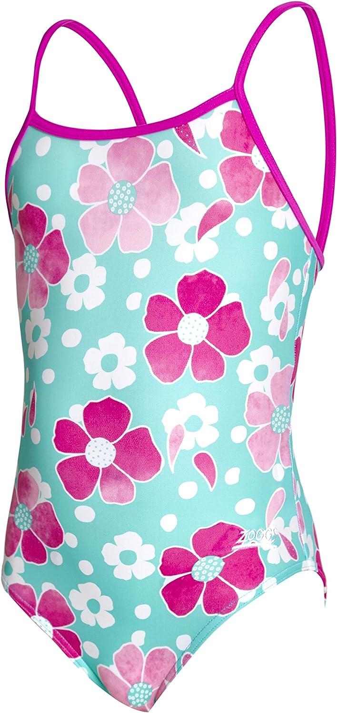 Zoggs Kids Petal Magic Yaroomba Floral Swimsuit
