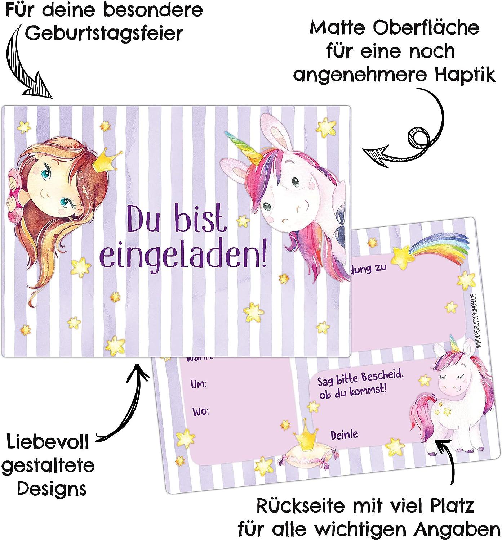 Papierdrachen 12 Einladungskarten zum Kindergeburtstag f/ür M/ädchen und Jungen Motiv Afrika DIN A6 mit abgerundeten Ecken Geburtstagseinladungen f/ür Deine Geburtstagsparty