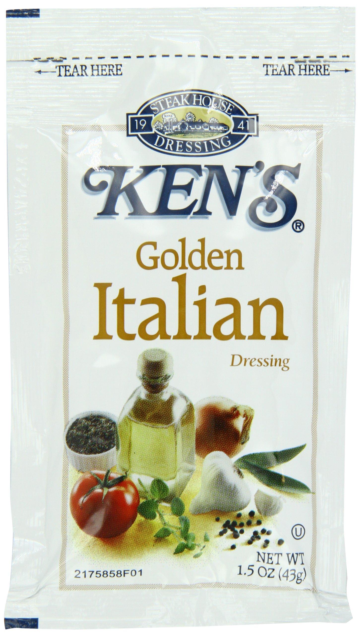 Ken's Golden Italian Dressing, 1.5 oz, 60 count