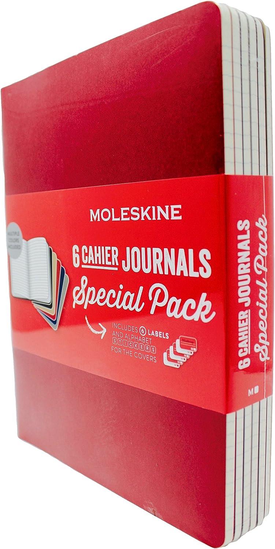 Moleskine - Diario para manualidades, 120 páginas a rayas, 19 x 24 ...