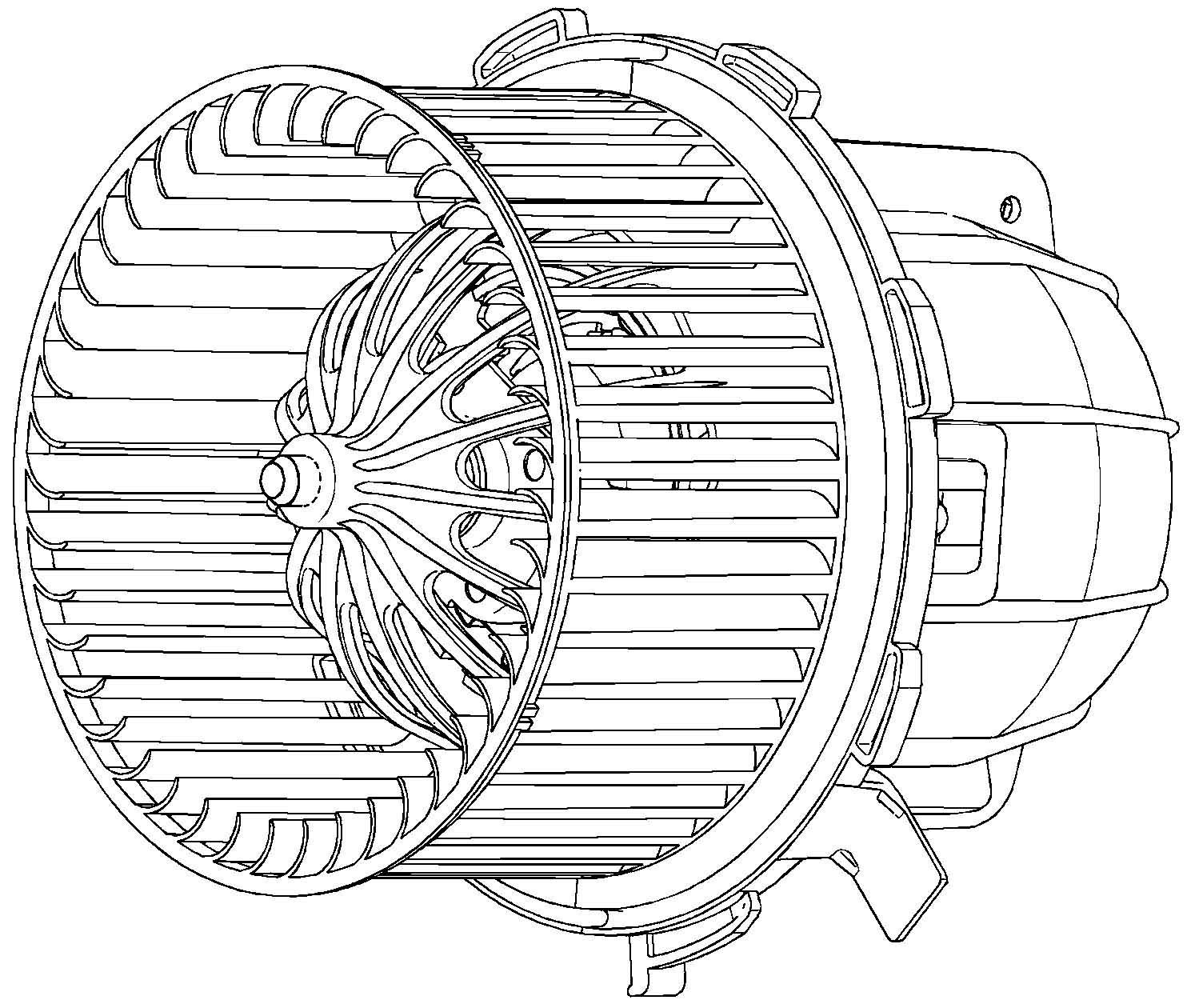 Behr Hella Service 351040251 Blower for Audi A4/A5/S5/Q5 08-