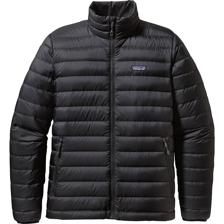 パタゴニア アウター ジャケット&ブルゾン Mens Down Jacket Black [並行輸入品] B074CYR363