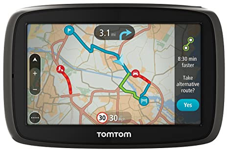 TomTom GO 40 4 inch Sat Nav with Western European Maps - Black on sat cartoon, sat score chart 2014, sat prep book,