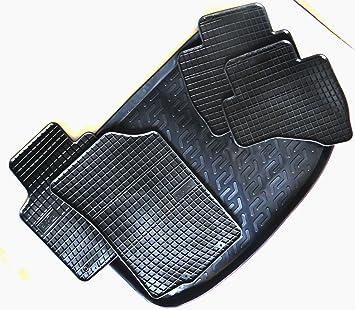 Gummifußmatten Kofferraumwanne Fußmatte Set Audi A4 Avant B8 8K von TN 2007-2015