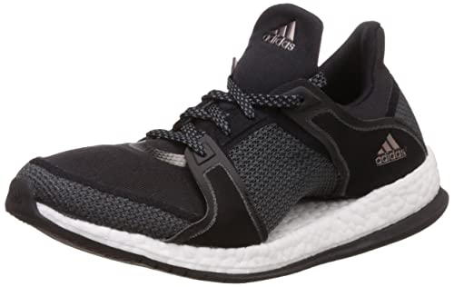 adidas Womens Running Sneakers Pure Boost X TR Training Shoes-Black-5.5