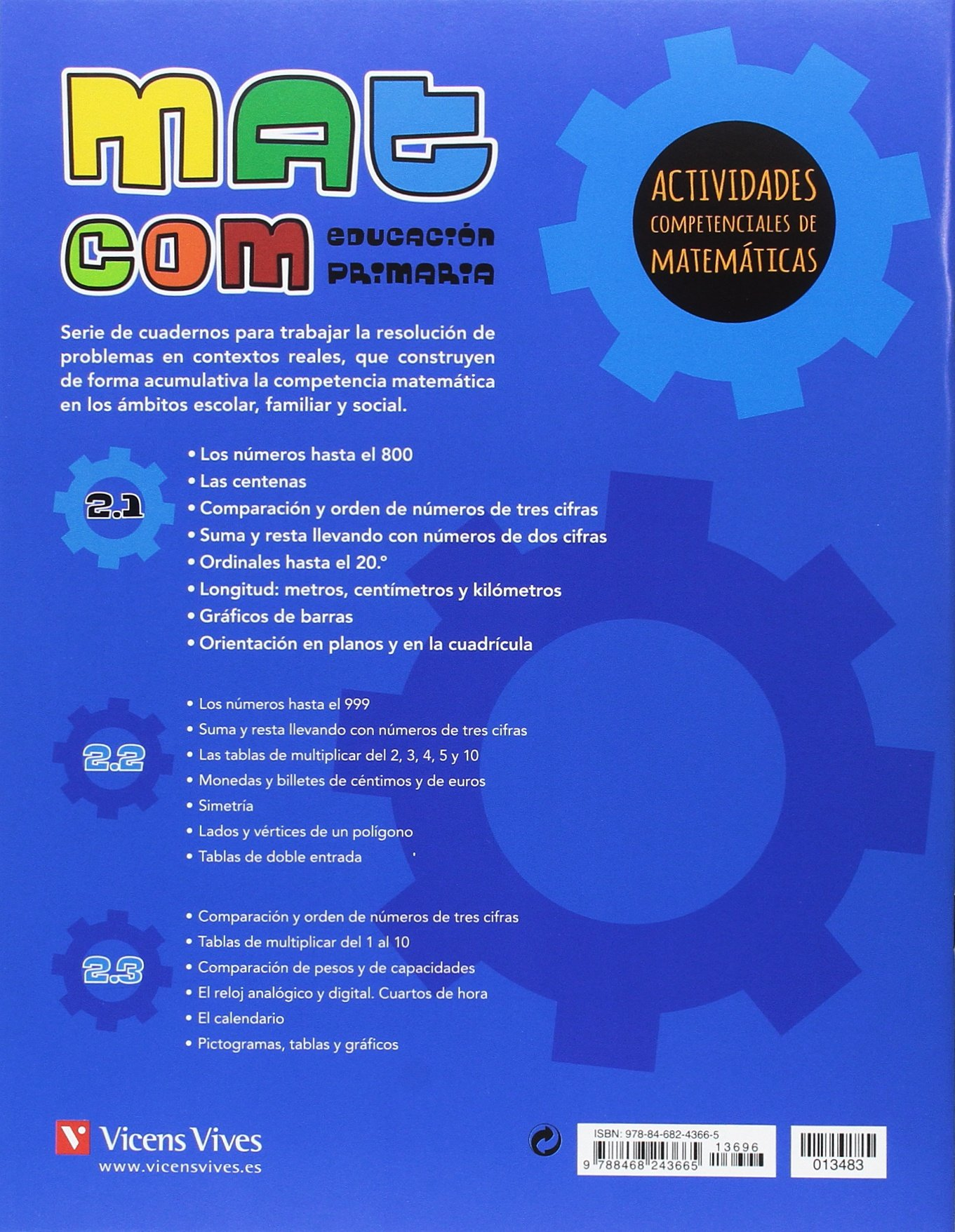 MAT COM 2 (2.1-2.2-2.3) ACTIVIDADES COMPETENCIALES: Javier Fraile Martin: 9788468243665: Amazon.com: Books