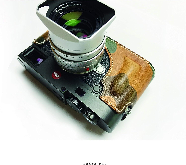 Leica M10 100/% Leather Handmade Camera case Turquise Blue