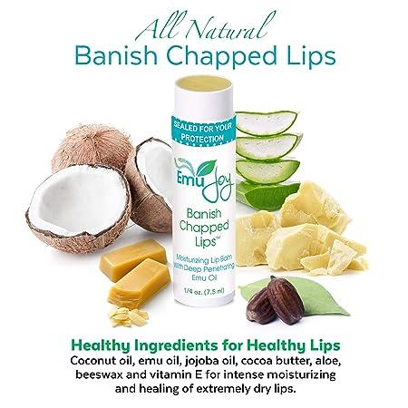 Amazon.com: desterrar Labios Agrietados. lipbalm orgánicos ...