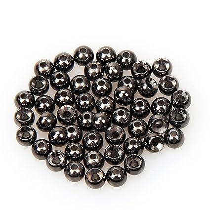 Angelsport-Fliegen-Bindematerialien 1000 Gold Tungsten Fly Tying Beads Assorted Sizes A