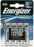 Energizer AA/L912900.0mAh Ultimate batterie al litio (confezione da 4)