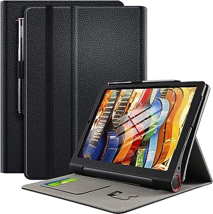 ELTD Funda Carcasa para Lenovo Yoga Smart Tab, Ultra Delgado Stand ...