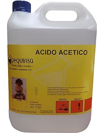 Acido Acetico. Envase 5 Litros.