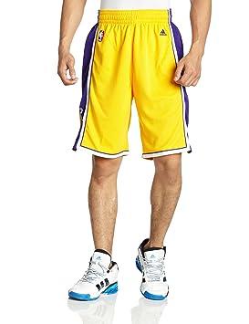 adidas Men s Shorts Swingman LA Lakers NBA 0fa21fa12