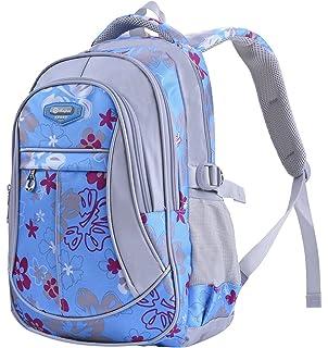 305957d51b Unisex Zaino Scuola per Elementare e Media impermeabile Schoolbag Casuale per  Ragazze Scuola Borse Zaini Borsa