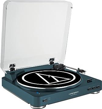 Amazon.com: Audio Technica AT-LP60 Bluetooth Marino: Home ...