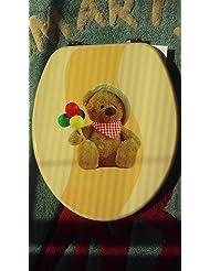 1PC TOILET SEAT W/BEAR DESIGN TOILET02