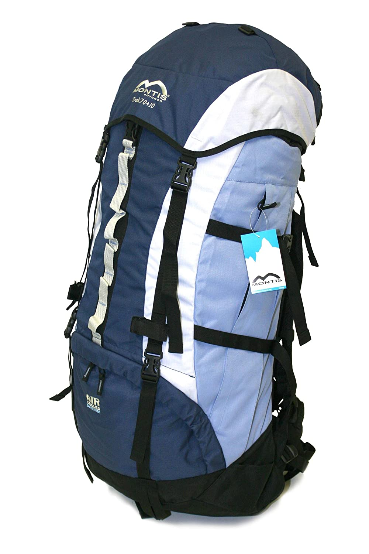 MONTIS TREK 70+10, mochila de senderismo, 80 l, 85 x 36 cm, 2450 g: Amazon.es: Deportes y aire libre