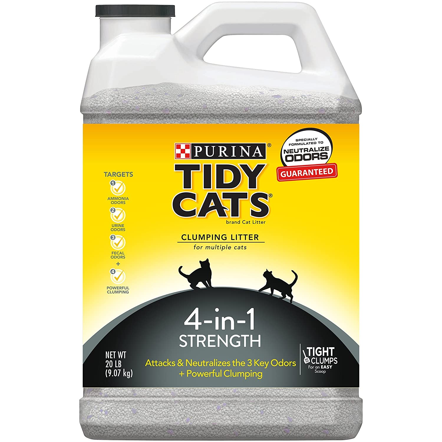 Tidy Cats 4 in 1 Clumping Cat Litter 20 lbs.