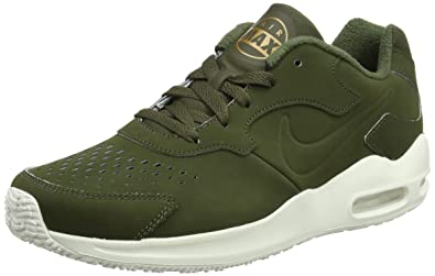 super popular 351d5 14b8f Nike Air Max Guile Premium, Sneakers Basses Homme, Vert Cargo Khaki-Ivory-