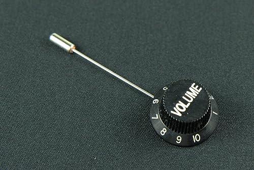 Miniblings Broche Volume de la Guitare Poti Badges Boutons de Volume schwz
