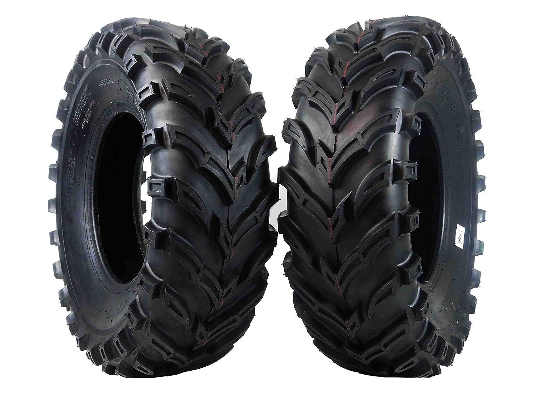 "2 Pack 25/"" Tall Tires Big Horn 6PLY 25x10-12 Rear ATV Tire MASSFX SL251012 x2"