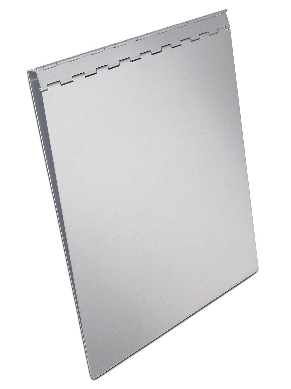 Amazon saunders recycled aluminum sheet holder with privacy amazon saunders recycled aluminum sheet holder with privacy cover letter size 85 x 12 inches 1 sheet holder 13031 aluminum clipboard office madrichimfo Gallery