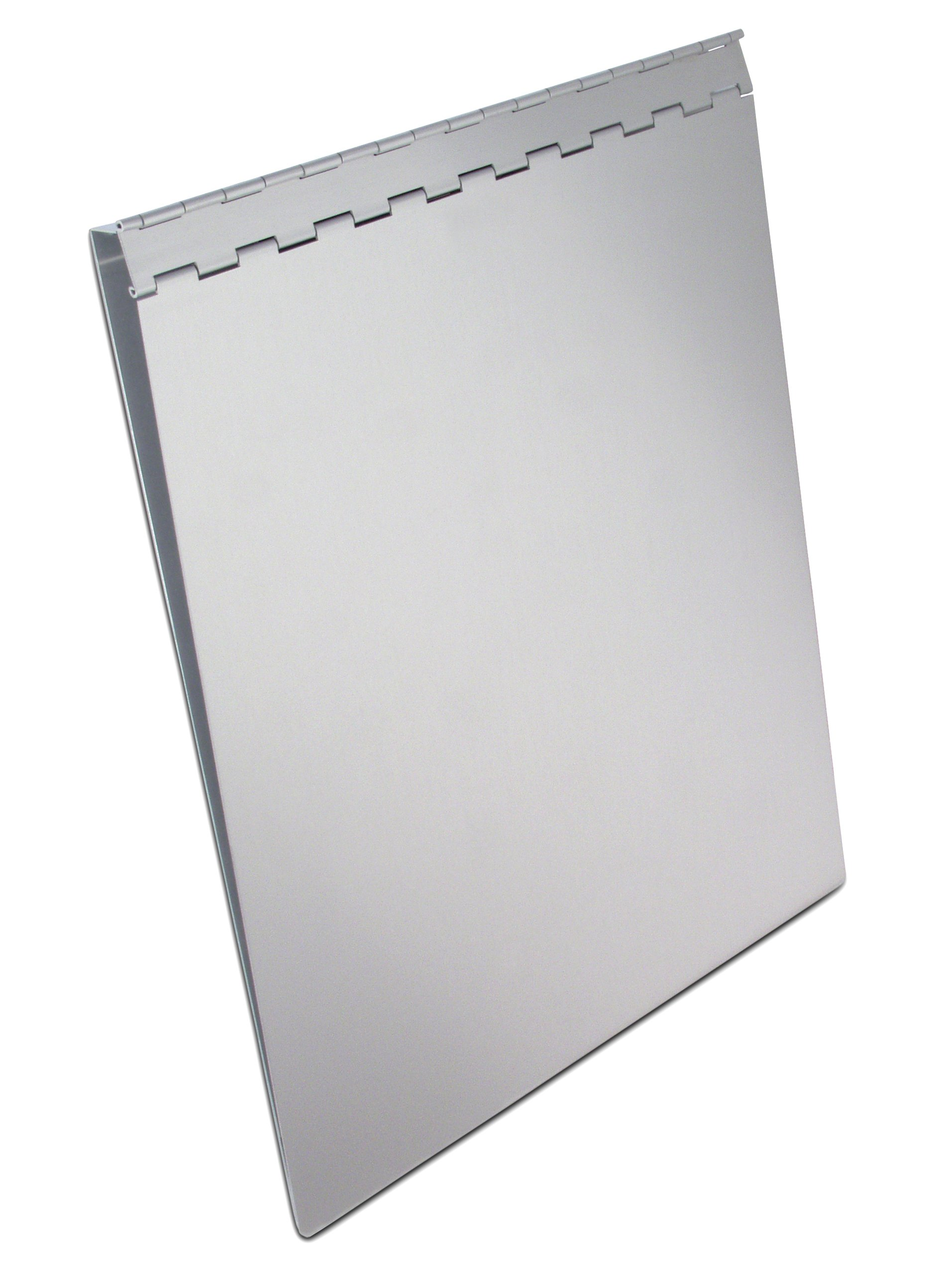 Saunders Recycled Aluminum Sheet Holder with Privacy Cover, Letter Size, 8.5 x 12-Inches, 1 Sheet Holder (13031)