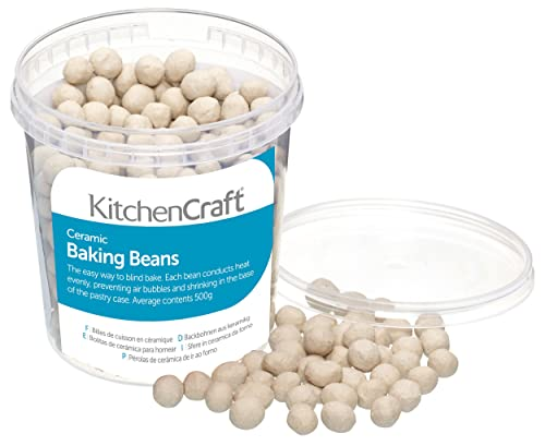 Kitchen Craft Ceramic Baking Beans for Pastry, 500 g (1 lb)