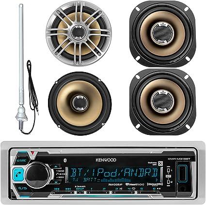"2x POLK AUDIO DB501 5/"" 2-Way 270 Watts Marine Car Audio Coaxial Speakers 1 Pair"