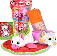 Basic Fun Cutetitos Fruititos - Surprise Stuffed Animals - Collectible Scented Plush - Series 4 - Great Gift for Girls & Boy