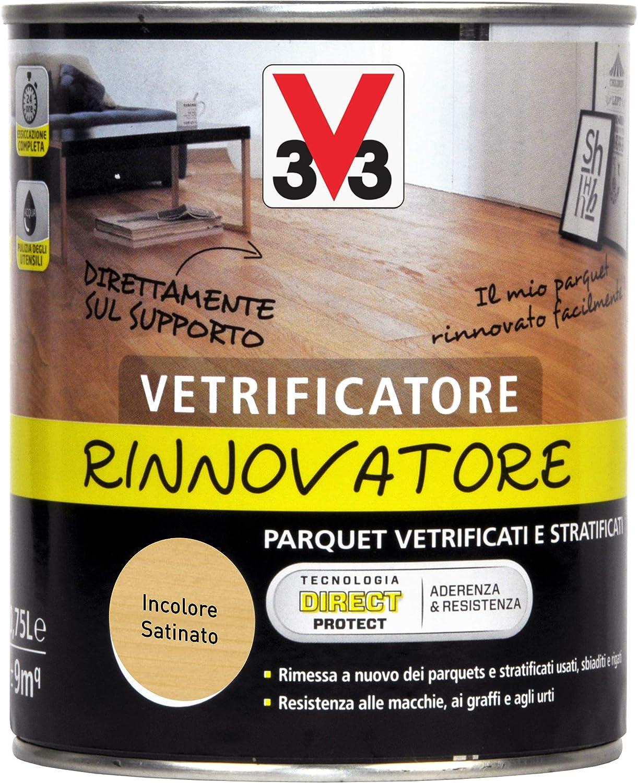 Vitrificador renovador incoloro satinado 0,75 l: Amazon.es ...