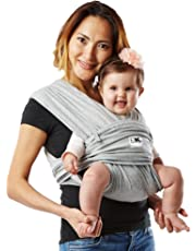 Baby K'Tan Cotton Baby Carrier, Heather Grey, Small