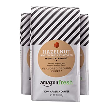 AmazonFresh Medium Roast Hazelnut Coffee